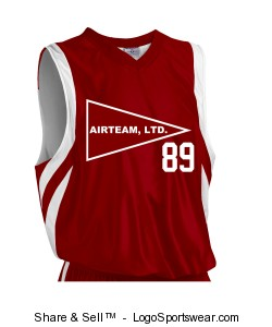 Youth Downtown Reversible Basketball Jersey Design Zoom